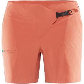 Klättermusen W's Vanadis Shorts Stone Red